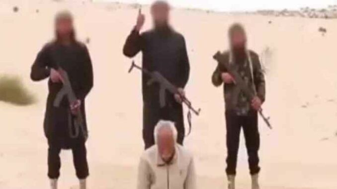 Obama's ISIS returns as Christian is executed on video
