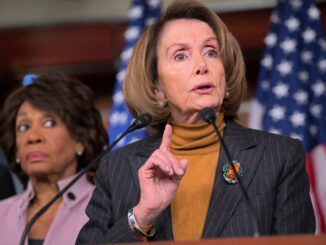 Nancy Pelosi says she stands by Rep. Maxine Waters, despite the fact that she incited a riot