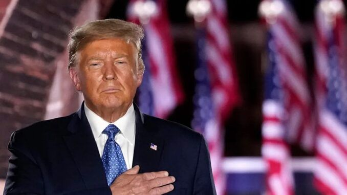 Trump says he intends to run in 2024 to root out evil within American politics