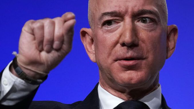 Amazon accuses GA election law of being an attempt to disenfranchise black people