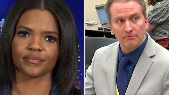 Candace Owens says Derek Chauvin trial was not fair