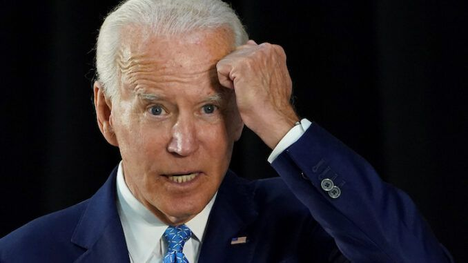 Joe Biden repeatedly refers to 'atf' as 'aft'