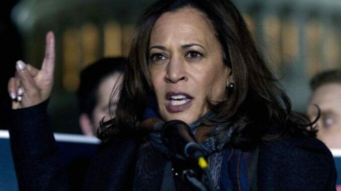 Kamala Harris says it's time to ban assault weapons in the U.S.