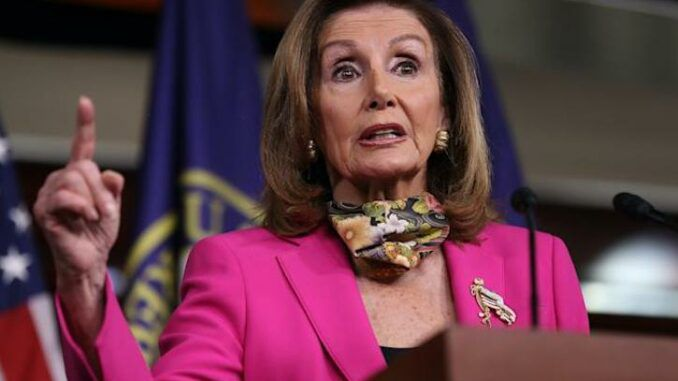 Nancy Pelosi says she will never forgive Trump supporters