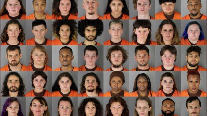 Mugshots of Antifa/BLM terrorists released that were arrested in Brooklyn Center, MN