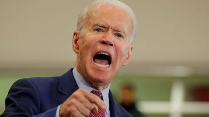 President Joseph Biden instructs Big Tech to censor independent media outlets and promote CNN instead