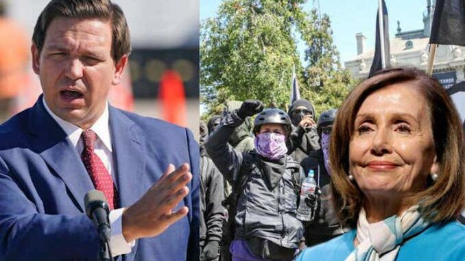 DeSantis warns Antifa to stay the hell out of Florida