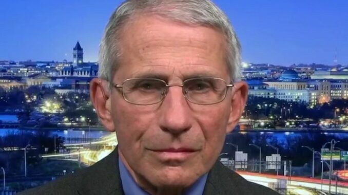 Dr. Fauci admits that Covid-19 may have originated in Chinese labs