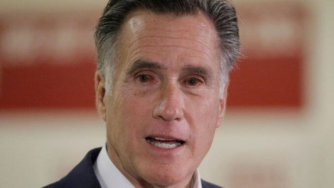 Sen Mitt Romney booed and heckled out of Republican Utah convention