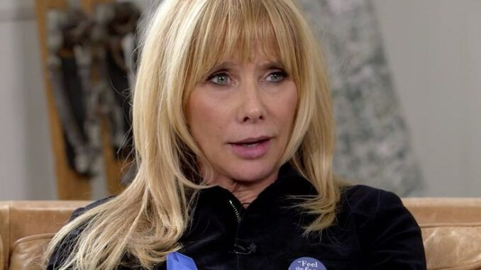 Rosanna Arquette says if Jesus were still alive he would be murdered by US cops