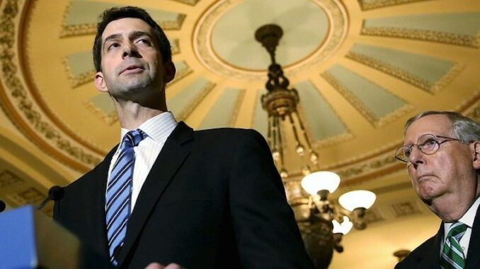 Sen. Tom Cotton warns H.R.1 will permanently rig elections for Democrats