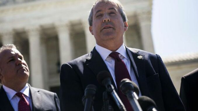Texas Attorney General Ken Paxton says only reason Democrats oppose voter ID is because they love to cheat