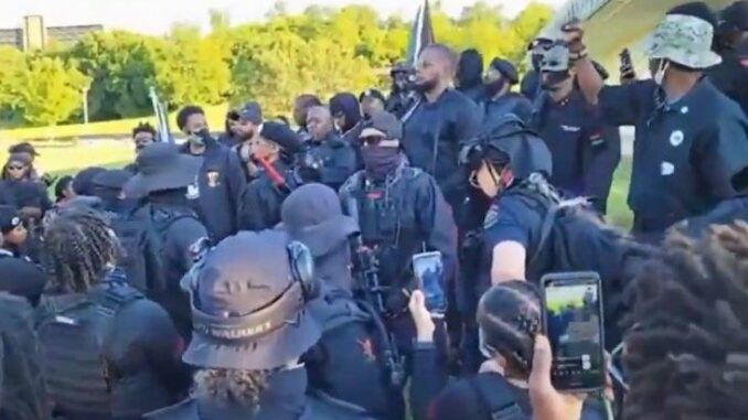 Armed BLM militants in Tulsa vow to kill all white people