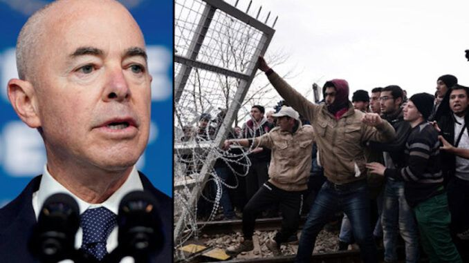 Biden's DHS chief admits migrants are their highest priority