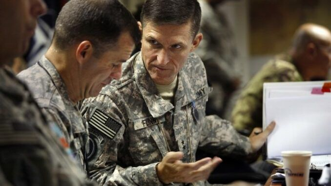 General Flynn says COVID was weaponized by China