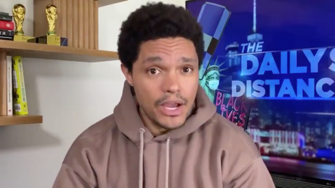 Trevor Noah asks why vaccinated people are still being told to wear masks