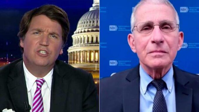 Tucker Carlson demands criminal investigation into Dr. Anthony Fauci