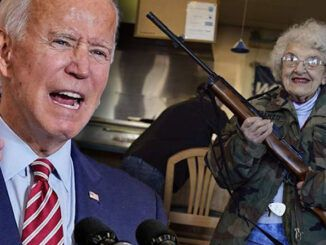 Biden warns gun owners the U.S. government has nuclear weapons to use against them