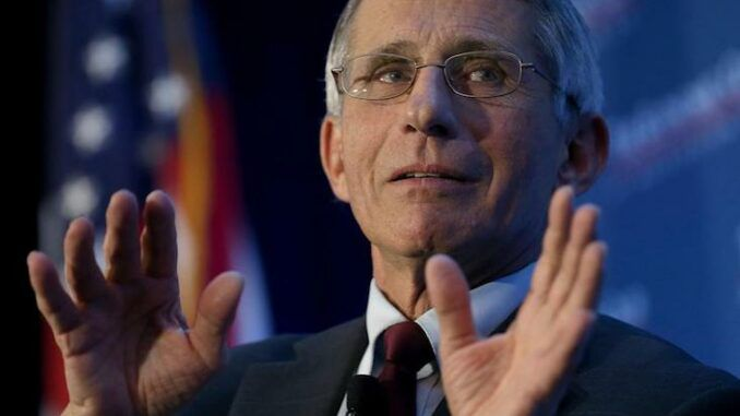 Fauci warns of new variant as calls mount for his arrest for crimes against humanity