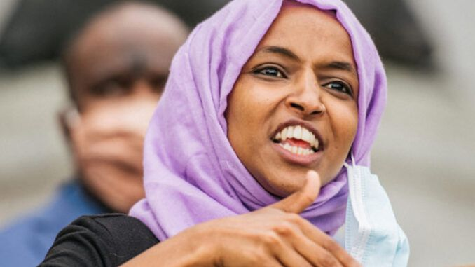 Rep. Ilhan Omar demand America is prosecuted for crimes against humanity
