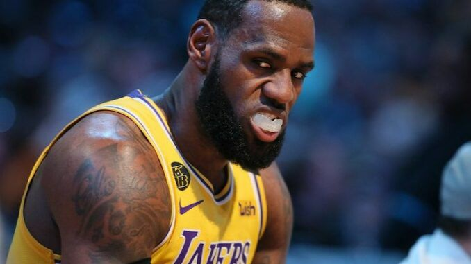LeBron James deemed most hated player in the NBA