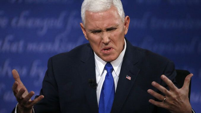 Mike Pence blasts Trump supporters as un-American