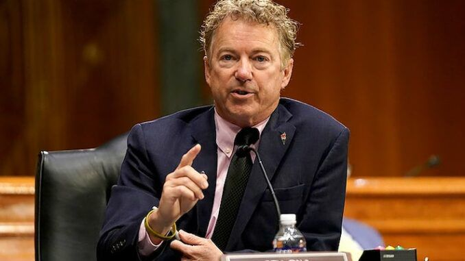 Sen. Rand Paul says COVID obviously originated in the Wuhan lab