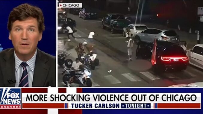 Tucker Carlson says white supremacists are now the ones carrying out violence on American streets