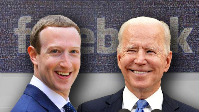 Biden ordered Facebook to censor President Trump before the 2020 election
