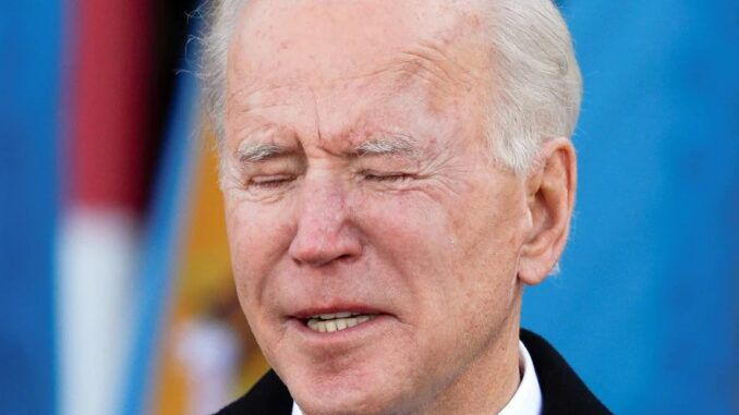 Democrat voters disillusioned at Biden, poll shows