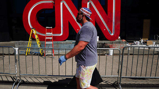 CNN ratings crash to an all time low