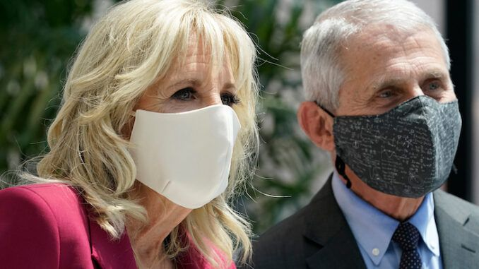 Jill Biden and Dr. Fauci greeted with boos in New York