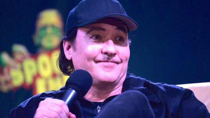 Actor John Cusack says the USA is 'awful'