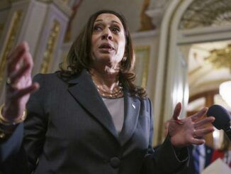 Kamala Harris encourages voters to knock on doors and harass unvaccinated people