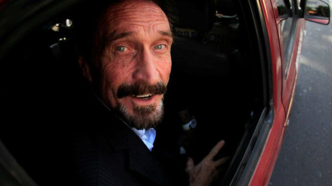 John Mcafee's lawyer insists he did not commit suicide