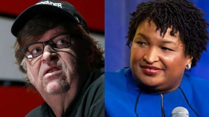 Michael Moore says we need a Stacey Abrams in every single U.S. State