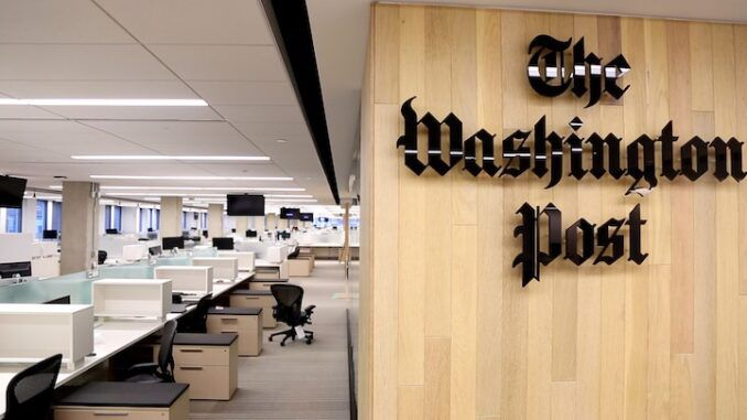 WaPo forced to admit Wuhan lab leak theory was not a conspiracy theory
