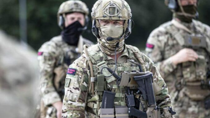 BRITAIN SPECIAL FORCES