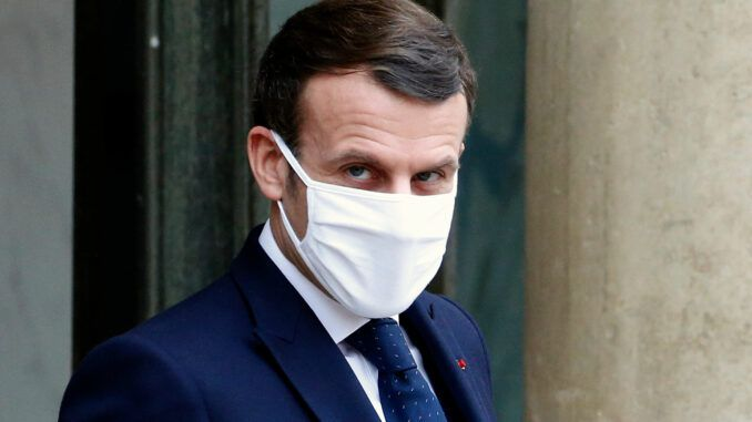French president covid vaccines