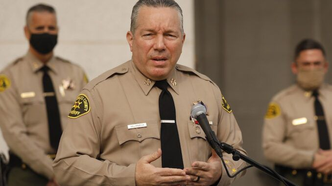 Los Angeles county sheriff says he will not enforce new mask mandate