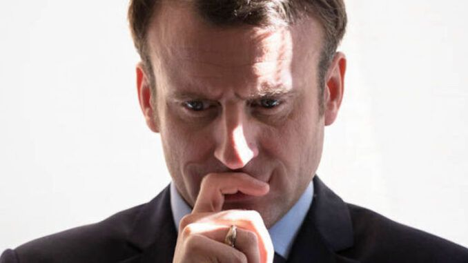 French President Emmanuel Macron promises jail time for citizens who do not have COVID pass and who dare to participate in normal daily activities