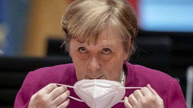 Merkel threatens Germans with a loss of their freedoms if they refuse to get vaccinated