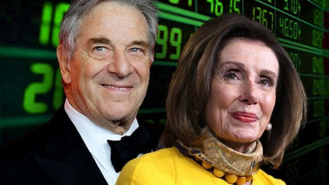 Nancy Pelosi's husband purchased Amazon stock before Pentagon awarded it a contract