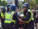 UK cops caught beating anti-lockdown protestor black and blue on so-called Freedom Day