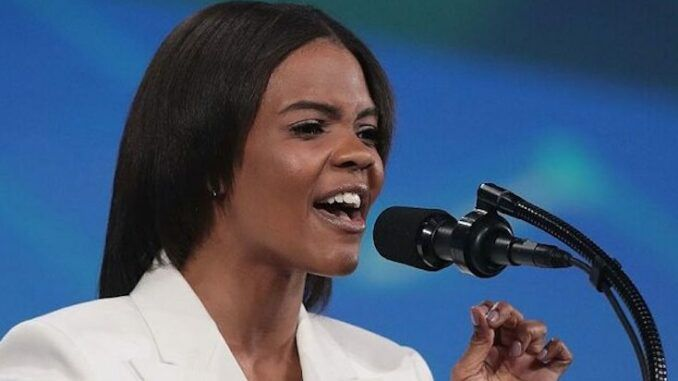 Candace Owens says Biden admin has been caught red handed pushing anti-white racism in schools