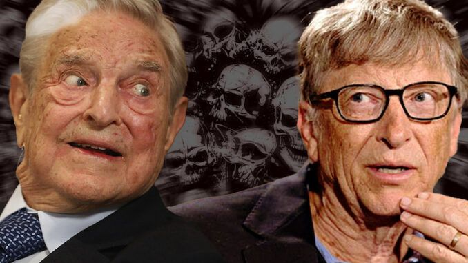 Bill Gates and George Soros team up to fight COVID-19