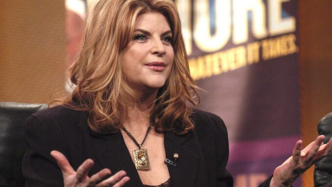 Kirstie Alley says Democrats are trying to normalize pedophilia in America