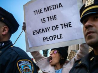 58 percent of Americans believe the media is the enemy of the people