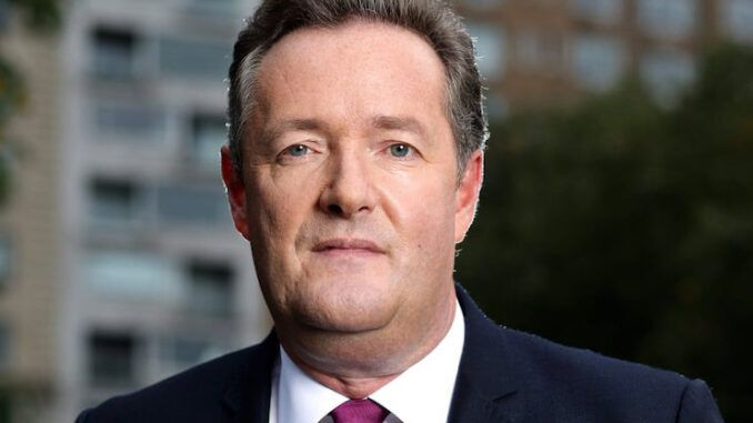 Piers Morgan calls on unvaccinated people to be denied medical treatment