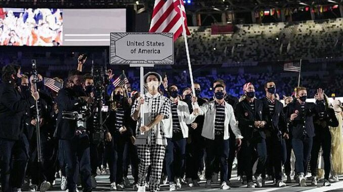 ESPN says the U.S.A flag at the Olympics represents 'white supremacy'